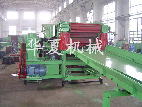ZCQ series knife roll straw cutting machine