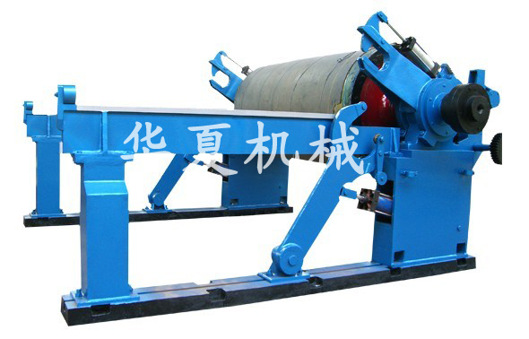 Level paper rolling machine