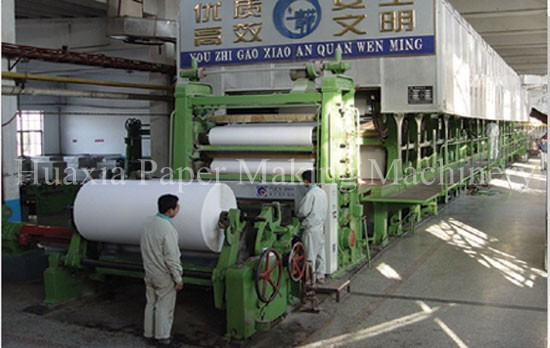 1092 model 5t/d writing paper machine